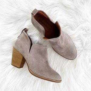 Jeffrey Campbell Rosalee Suede Ankle Bootie